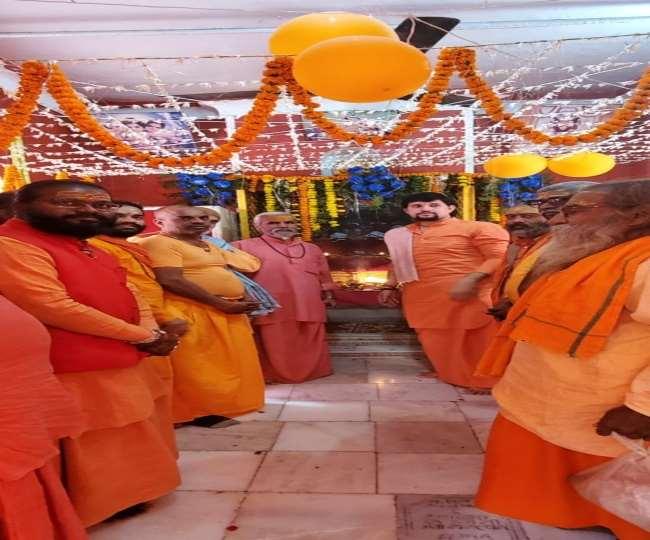 प्रयागराज में भगवान कार्तिकेय का प्राकट्य उत्सव महात्माओं ने मनाया श्रद्धा से