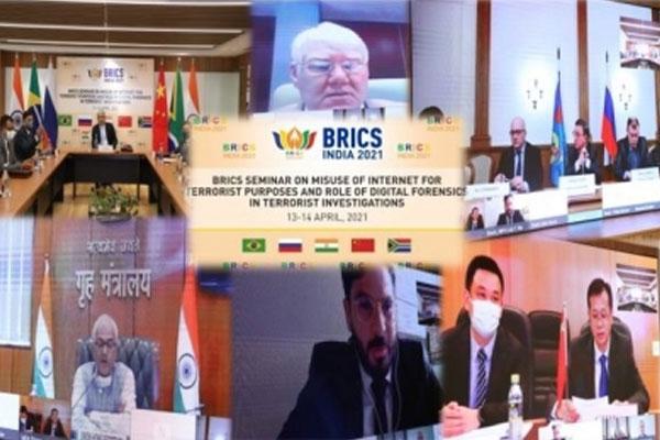 भारत ने की आतंकवादियों द्वारा इंटरनेट के दुरूपयोग पर NIA द्वारा आयोजित ब्रिक्स सम्मेलन की मेजबानी