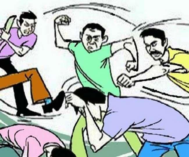 रमाला में कोरोना पाजिटिव 10 मरीजों को होम आइसोलेट करने गई टीम पर हमला